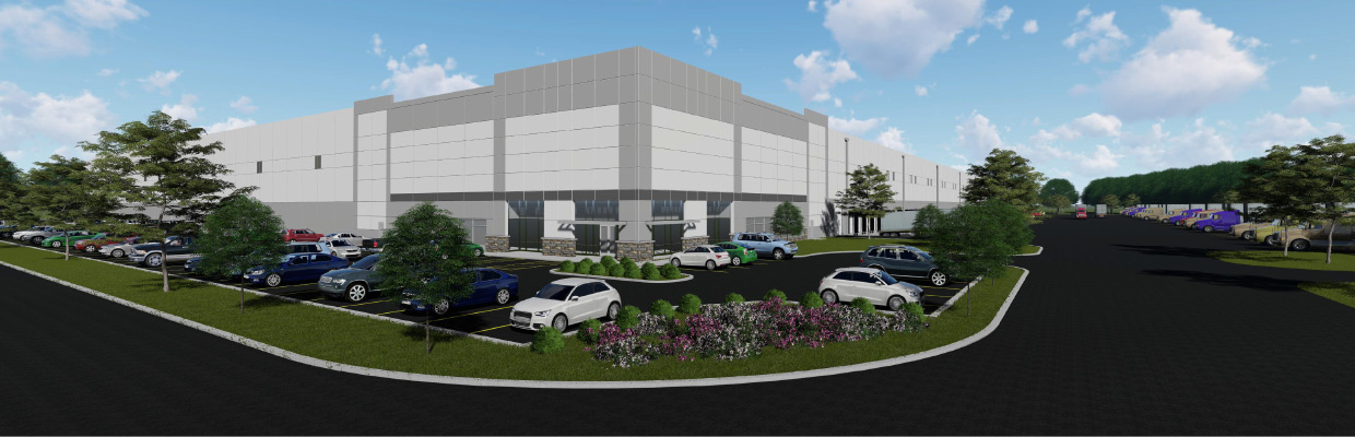Mid-Valley Logistics Center - An MRP Industrial Project